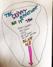 October 19th         -         Hey Exit         @         Skinny Apartment         in         Ridgewood NY.                      Playing with             Kenny Millions/David Grollman Duo, Andy Borsz, TBHQ, She of Irrevery.